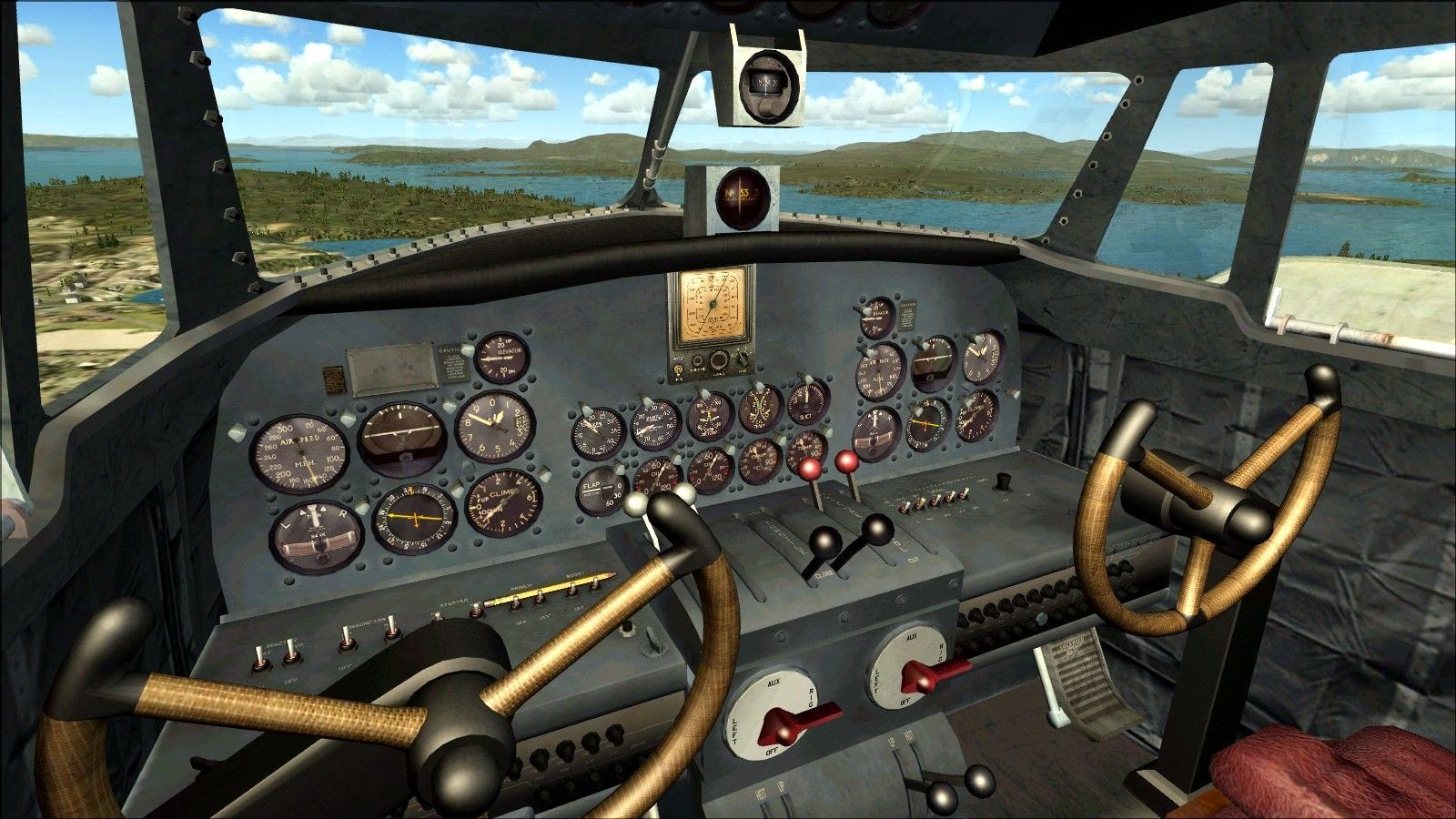 Microsoft flight simulator video card