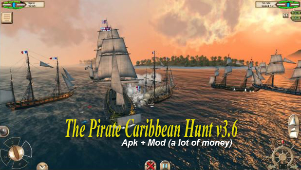 Download The Pirate Caribbean Hunt v3.6 Apk + Mod (Lot Of Money) Terbaru
