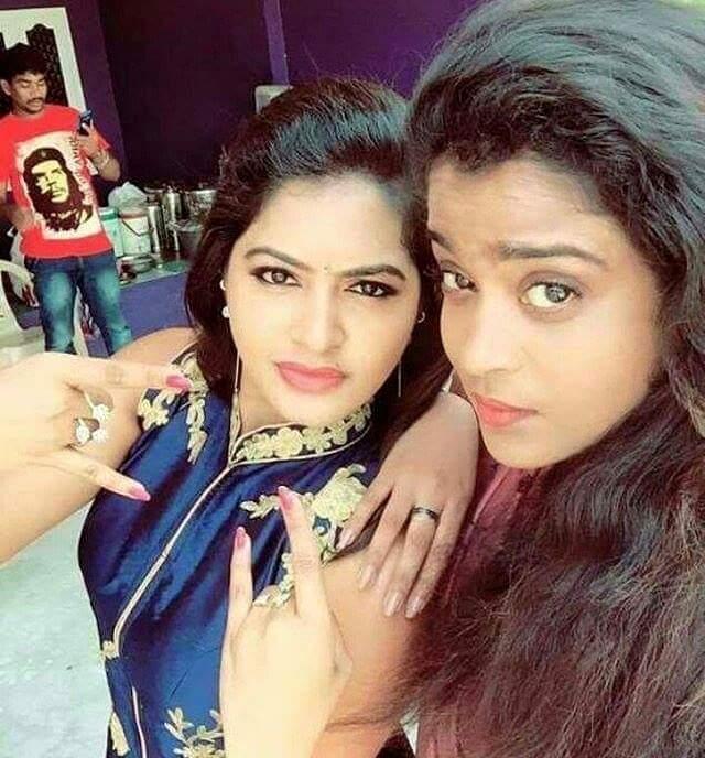 Saravanan Meenakshi Rachitha Cute And Hot Unseen Photo Anbum
