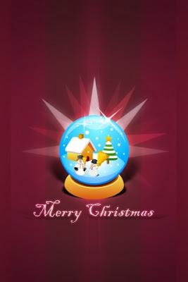 Merry Christmas Wallpaper 320x480