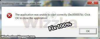 6 Cara Mengatasi Error 0xc00007b Pada Komputer Wizzka