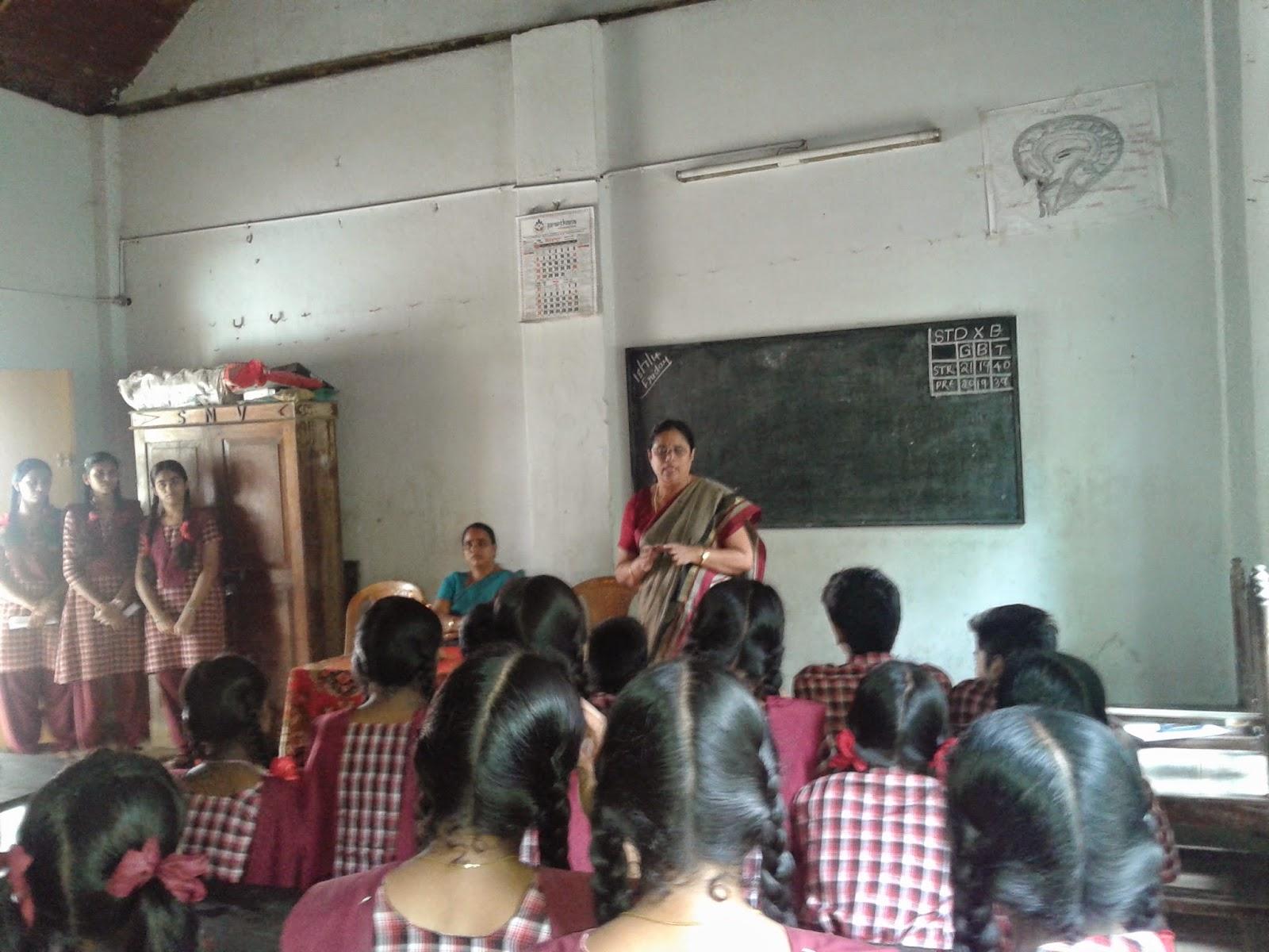 SNV Sanskrit HSS  N Paravur: English club _ Inauguration