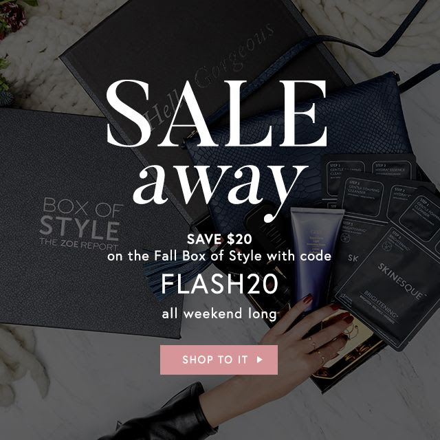 box of style $20 off