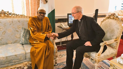 Archbishop of Canterbury Visits Buhari In London