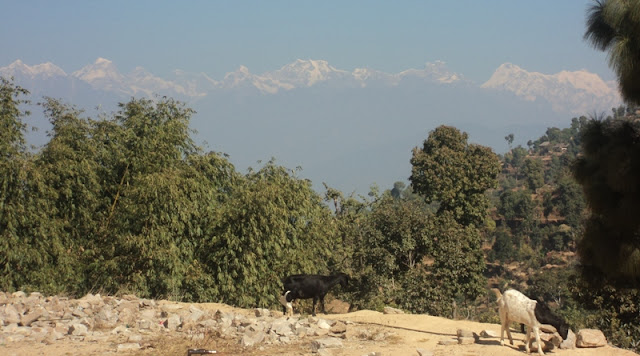 Mountain  photo from Halesi tour