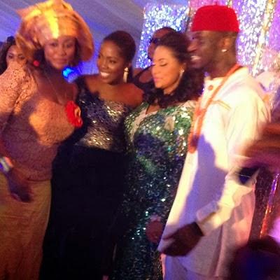 05f50c784fba11e396bb0e8092767a2f 8 Photos from Peter Okoye and Lola Omotayos traditional wedding