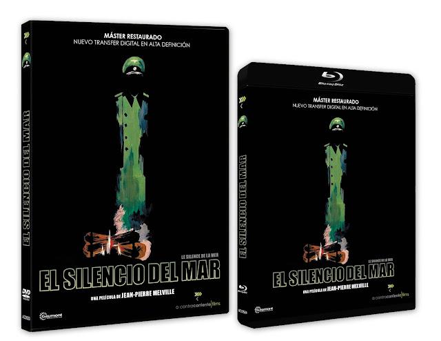 A la venta en Blu-ray y DVD 'El silencio del mar' de Jean-Pierre Melville