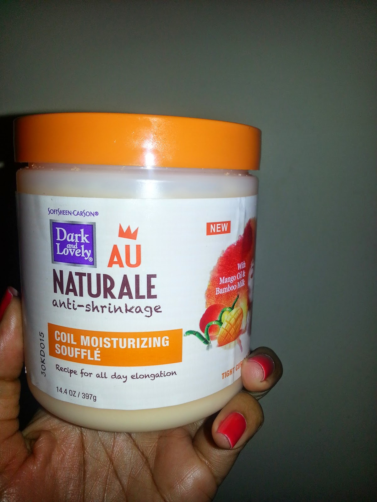 Dark And Lovely Coil Moisturizing Souffle Review
