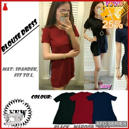 AFO422 Model Fashion Blouse Dress Modis Murah BMGShop