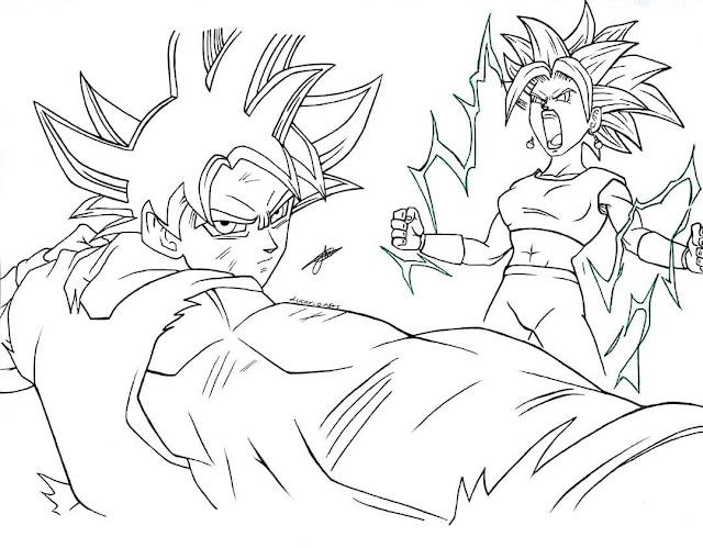 Jiren Dibujos Para Colorear De Dragon Ball Super Goku Ultra Instinto