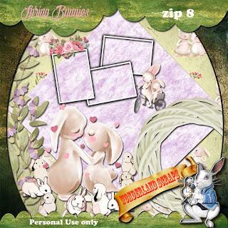 Spring Bunnies 8 freebie