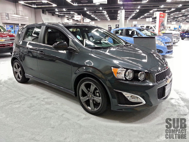 2013 Chevrolet Sonic RS - Subcompact Culture