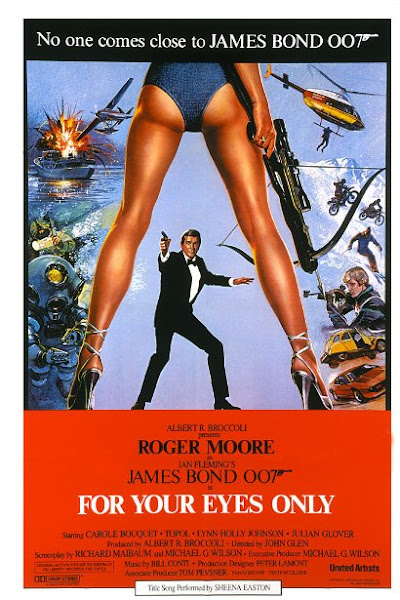 Poster Of James Bond For Your Eyes Only 1981 720p Hindi BRRip Dual Audio Full Movie