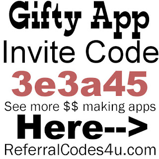 Gifty App Invite Code 2020, Gifty Referral Code 2020, Gifty Reviews, Gifty App Sign Up Bonus