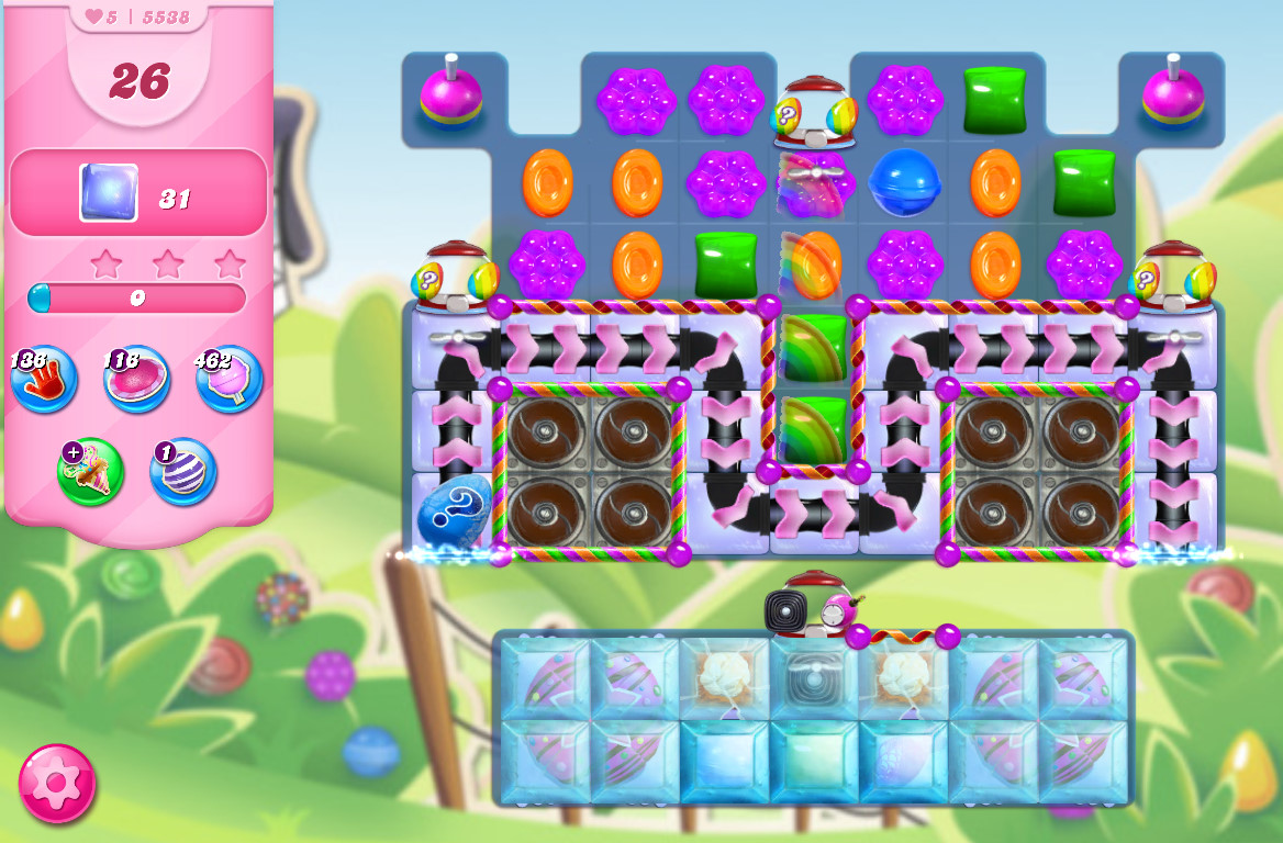 Candy Crush Saga level 5538