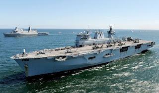 Kapal Serbu Amfibi HMS Ocean (L12)