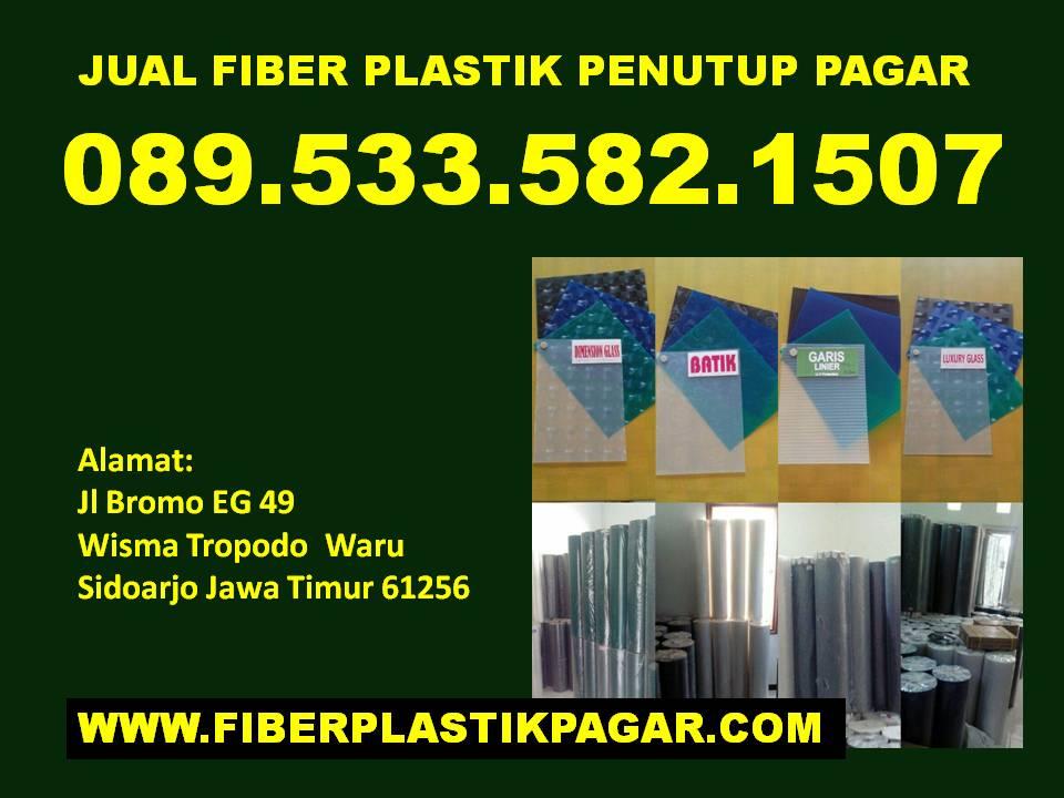 0895335821507 Jual Plastik Penutup Pagar Rumah Sidoarjo Jual Fiber Plastik Penutup Pagar