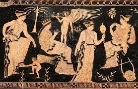 Η θεά Ευρυνόμη που σύμφωνα με τον αρχαίο μύθο δημιούργησε τον κόσμο