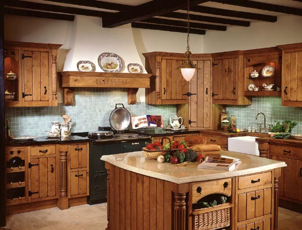 HunnyBee Blog: Country Kitchens