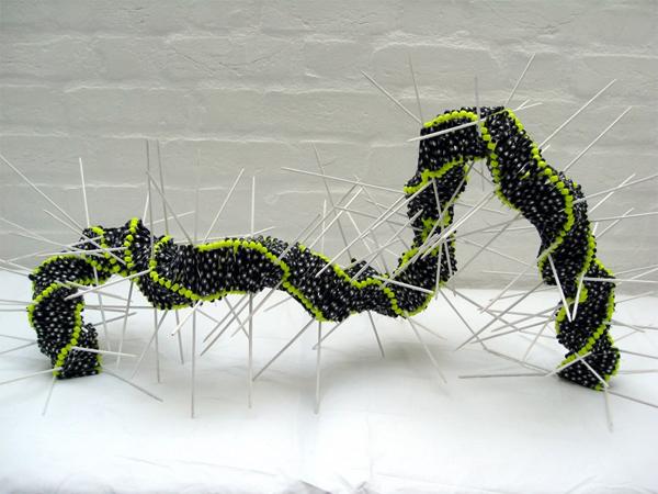 bead art, art with beads,