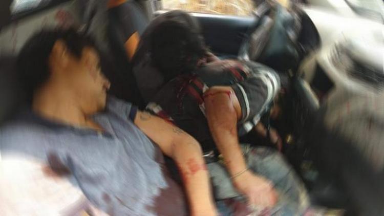 Motosicarios rafaguean y ejecutan a tres repartidores de Gas en Cuernavaca, Morelos. dos abatidos y un herido.