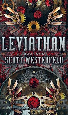 """News: Divulgada a capa de """"Leviata"""", do autor Scott Westerfeld. 18"""