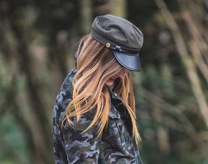 Gorra , Chaqueta militar , es cuestión de estilo , estilo , Personal Shopper , Lucía Díez .