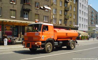 Polewaczka Liaz 110 w czeskiej Opavie