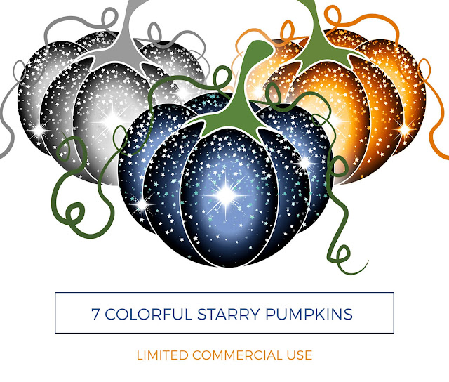 clip art png starry pumpkin clip art visualartzi,download  colorful pumpkins with stars