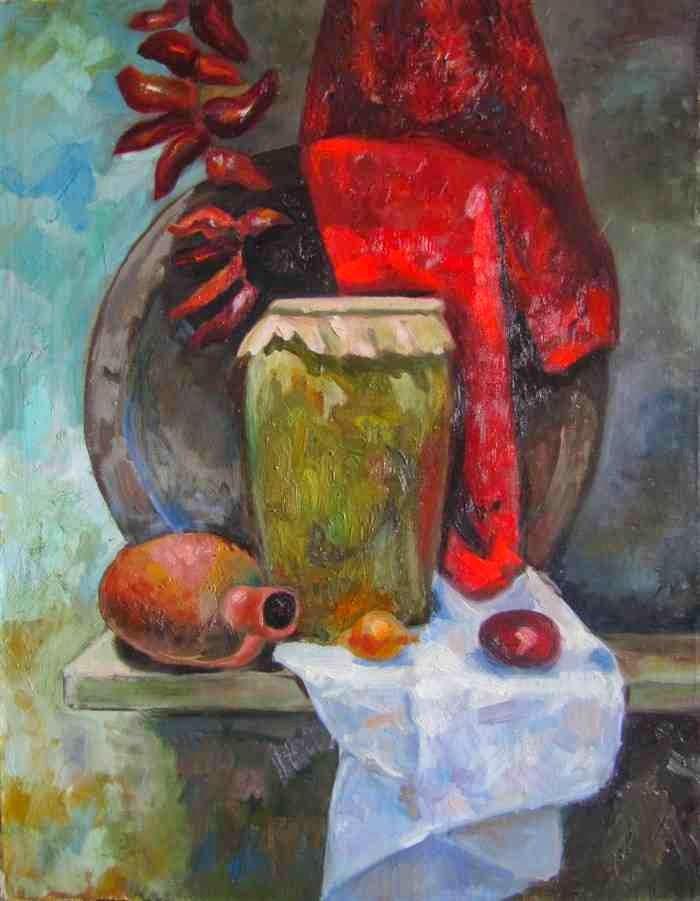 Талантливый грузинский художник. Георгий Мдинарадзе