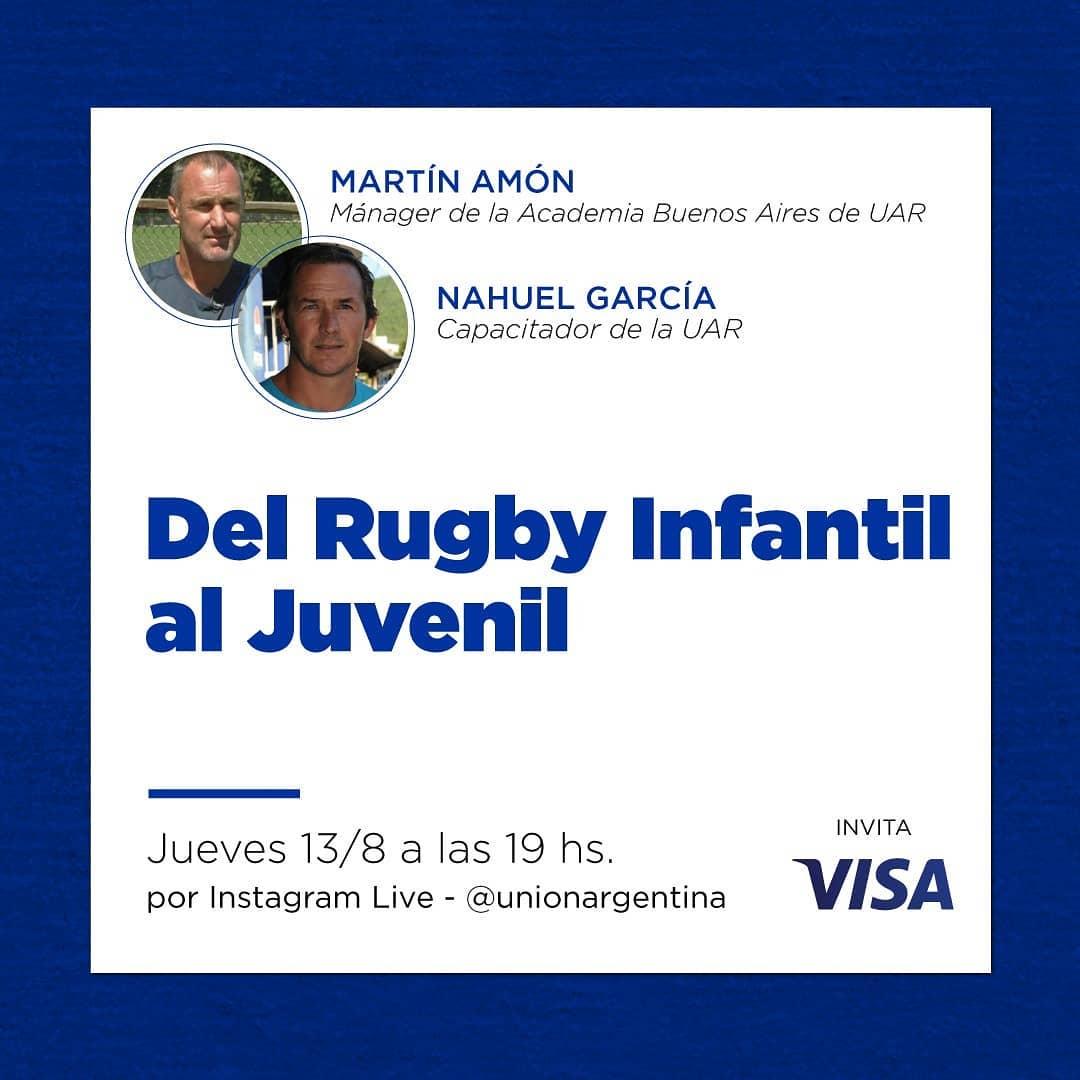 Del rugby infantil al juvenil #CapacitacionesUAR