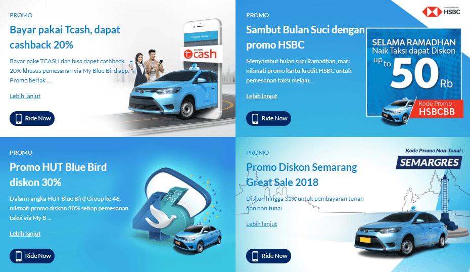 My Blue Bird Cara Mudah Reservasi Taxi Via Smartphone