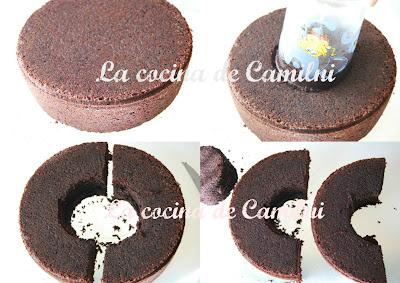 Tarta Arco Iris (La cocina de Camilni)