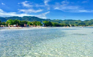 Best, peaceful, hidden and Famous tourist spots  long white beach in Anda quinale  bohol philippines 2018