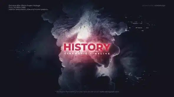 Videohive History Timeline 28023600