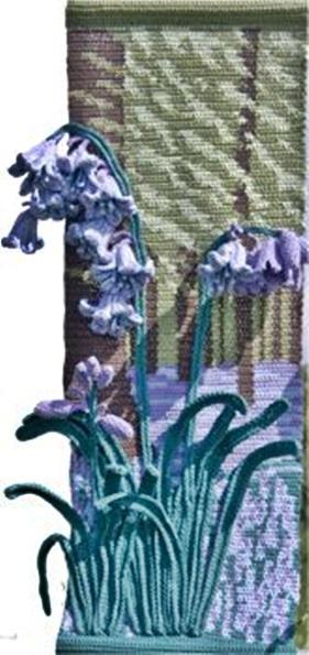 szydelkowe obrazy kwiatowe