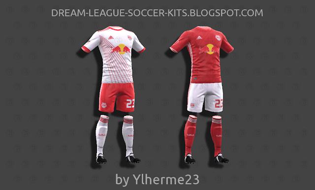 sale retailer 30265 00f75 New York Red Bulls 2018 - Dream League Soccer Kits