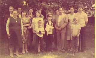 7fa199ee67 Komunia mojego syna Bogdana. Upamiętniona rodzina Iwko. Rodzice mojego  męża  Agnieszka i Stanisław