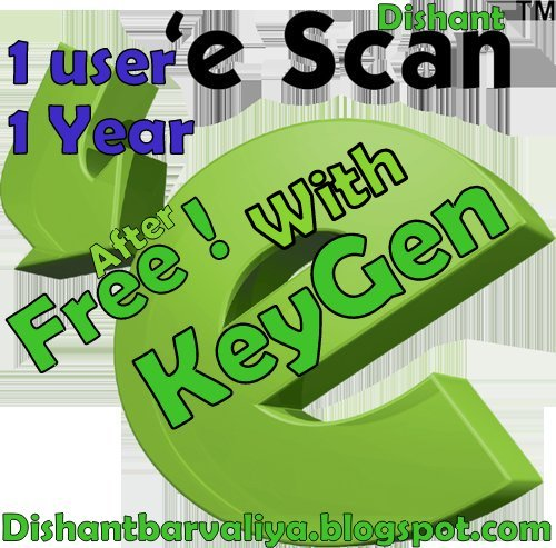 Escan Antivirus 11.0 Serial Key