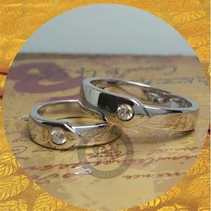 cincin kawin perak p5692