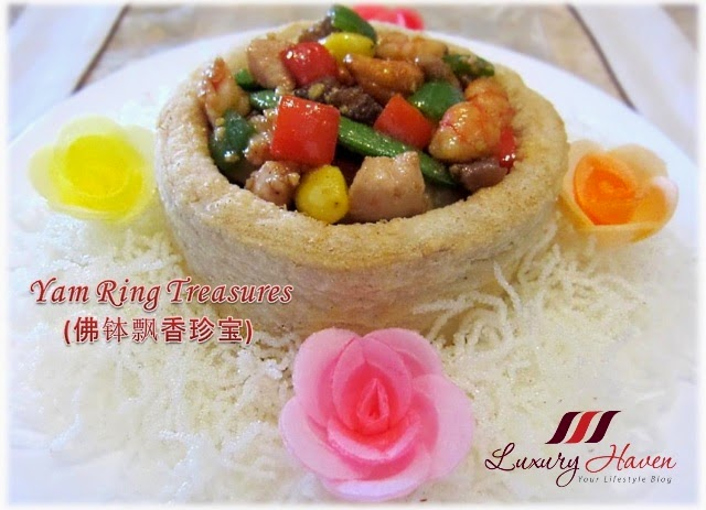 chinese new year seafood yam ring recipe