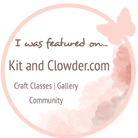My card was featured on Kit and Clowder!