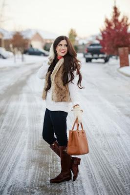 fotos de Botas de mujer cafe para invierno