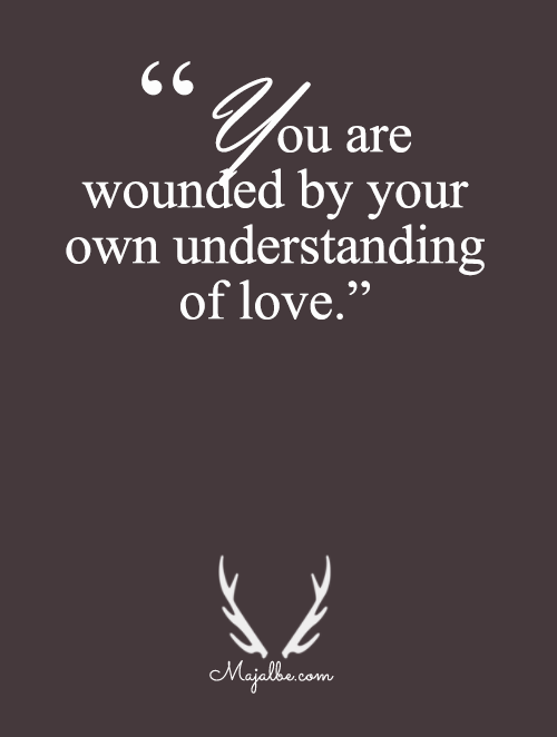 Wounded By Yourself