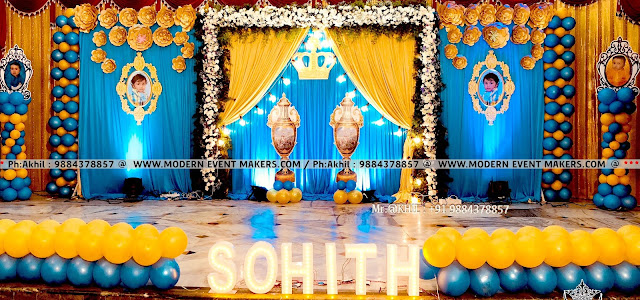 Royal Prince Theme Decorator in chennai From ModernEventMakers.com - Mr.Akhil - Ph: 9884378857