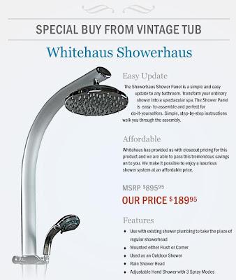 Whitehaus Showerhaus