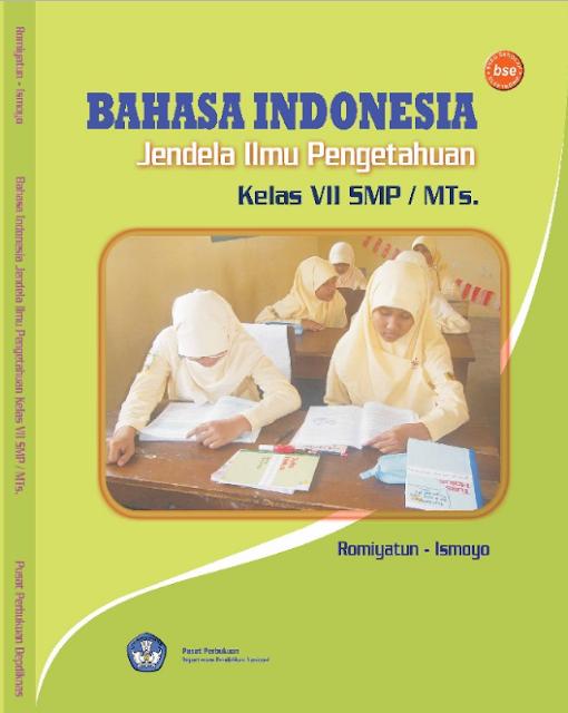 Download Buku Siswa KTSP SMP dan MTs Kelas 7 Bahasa Indonesia Jendela Ilmu Pengetahuan