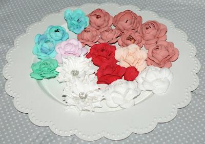 Kolejna porcja kwiatków