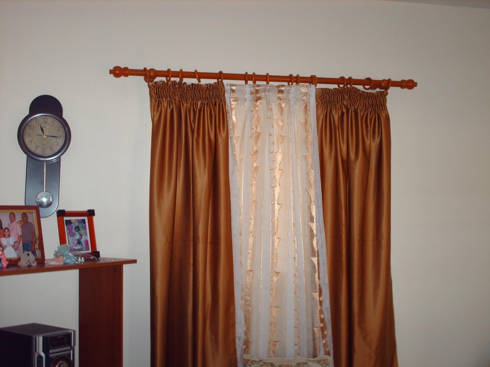 Cortinas para sala elegantes como hacer cortinas elegantes for Cortinas elegantes para sala