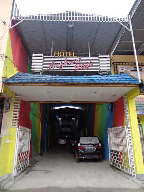 Gerbang Hotel Angkasa Raya